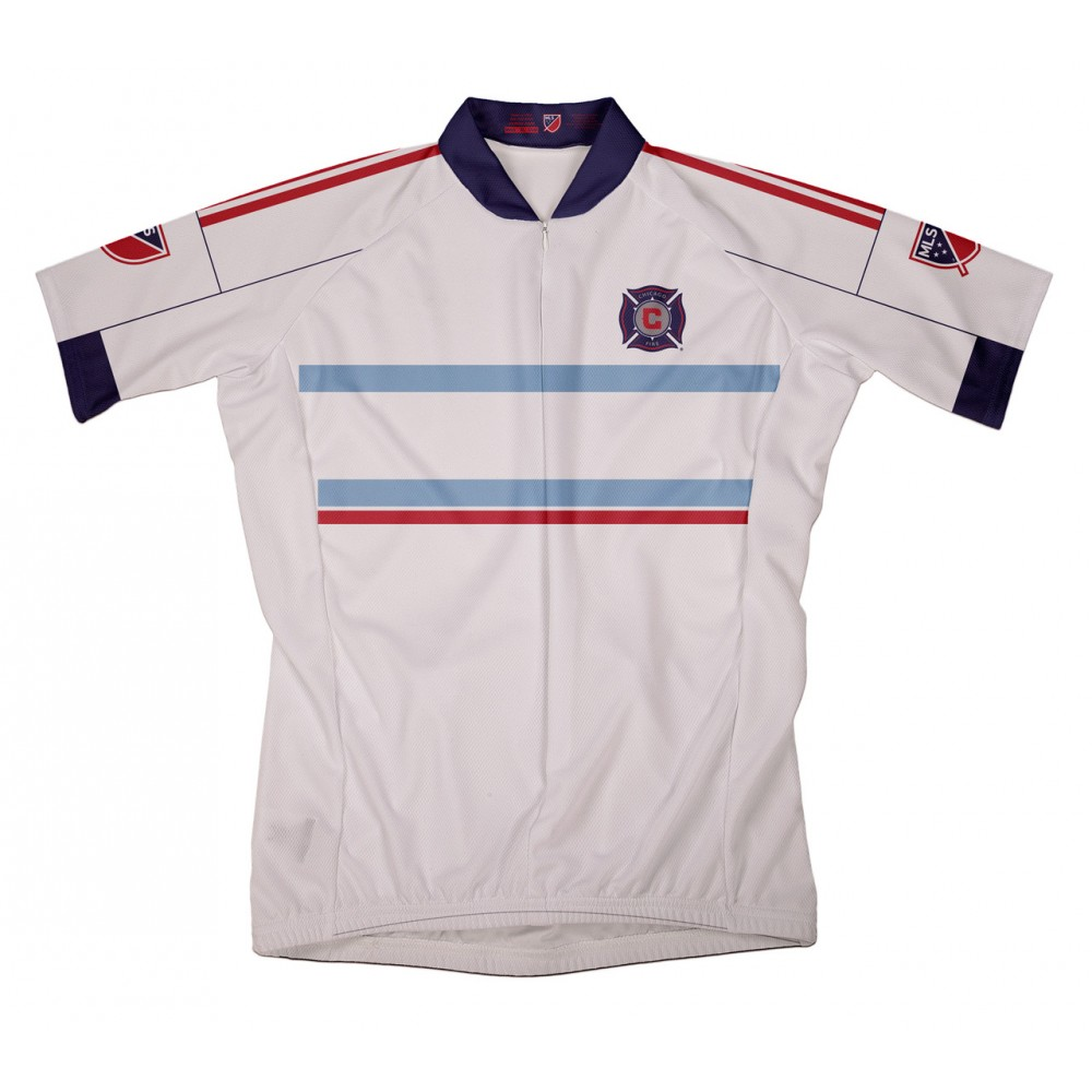 MLS Chicago Fire SC Mountain and road bike Cycling Jerseys