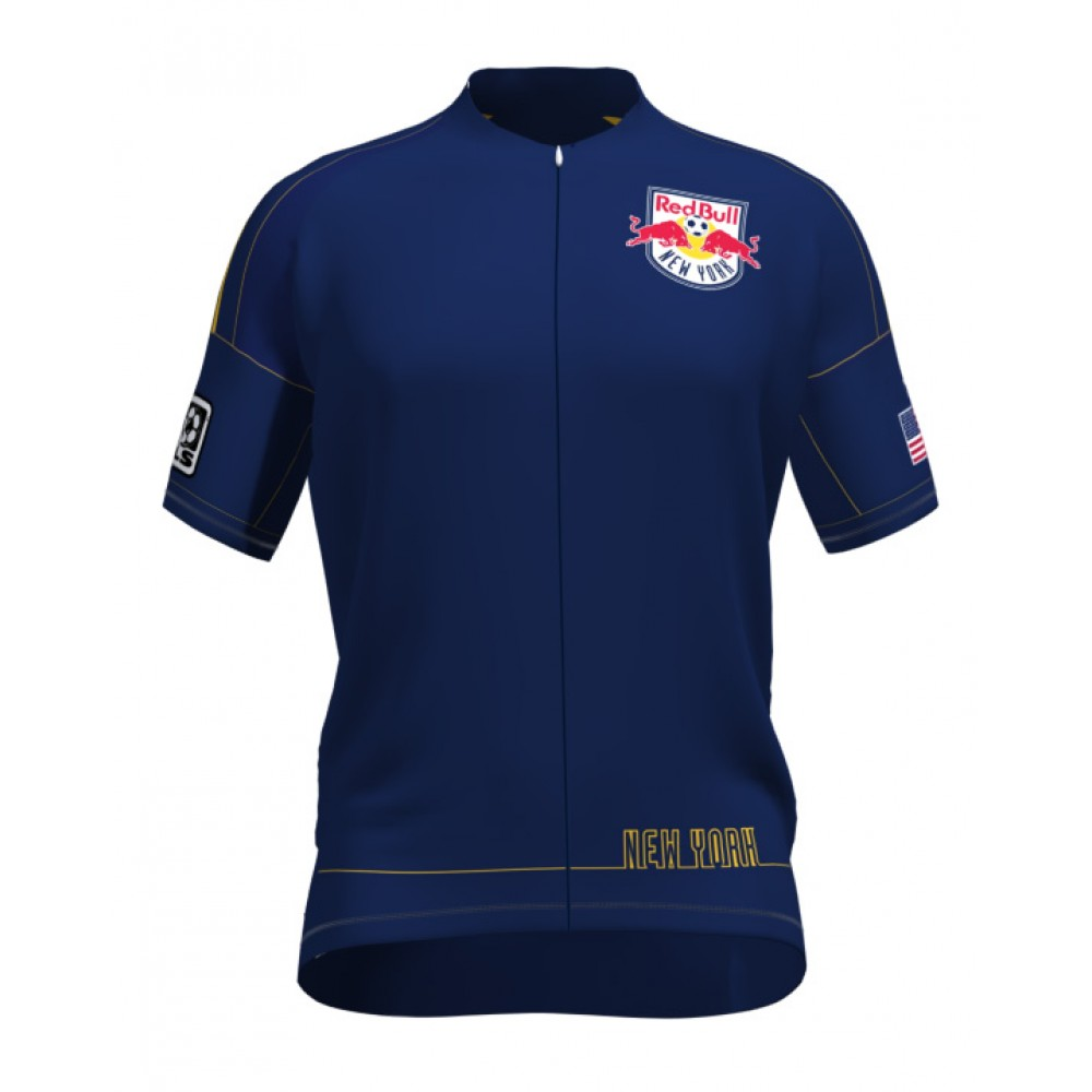 MLS New York Red Bulls Mountain and road bike Cycling Jerseys