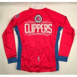 NBA Los Angeles Clippers Mountain and road bike Long Sleeve Bike Cycling Jerseys